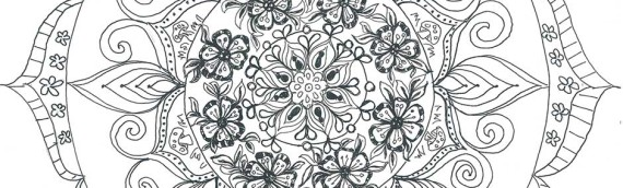 Mandala Doodles Adult Coloring Book