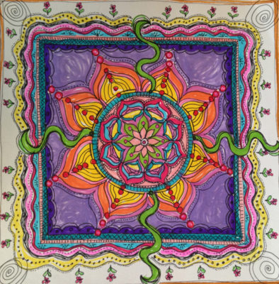Mandala Doodles Workshop June 9th
