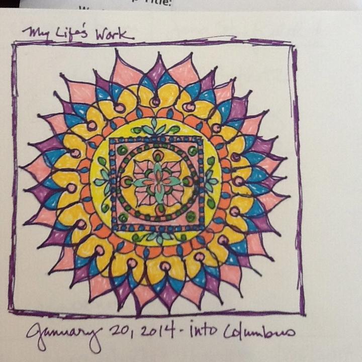 Notebook Mandala Doodle