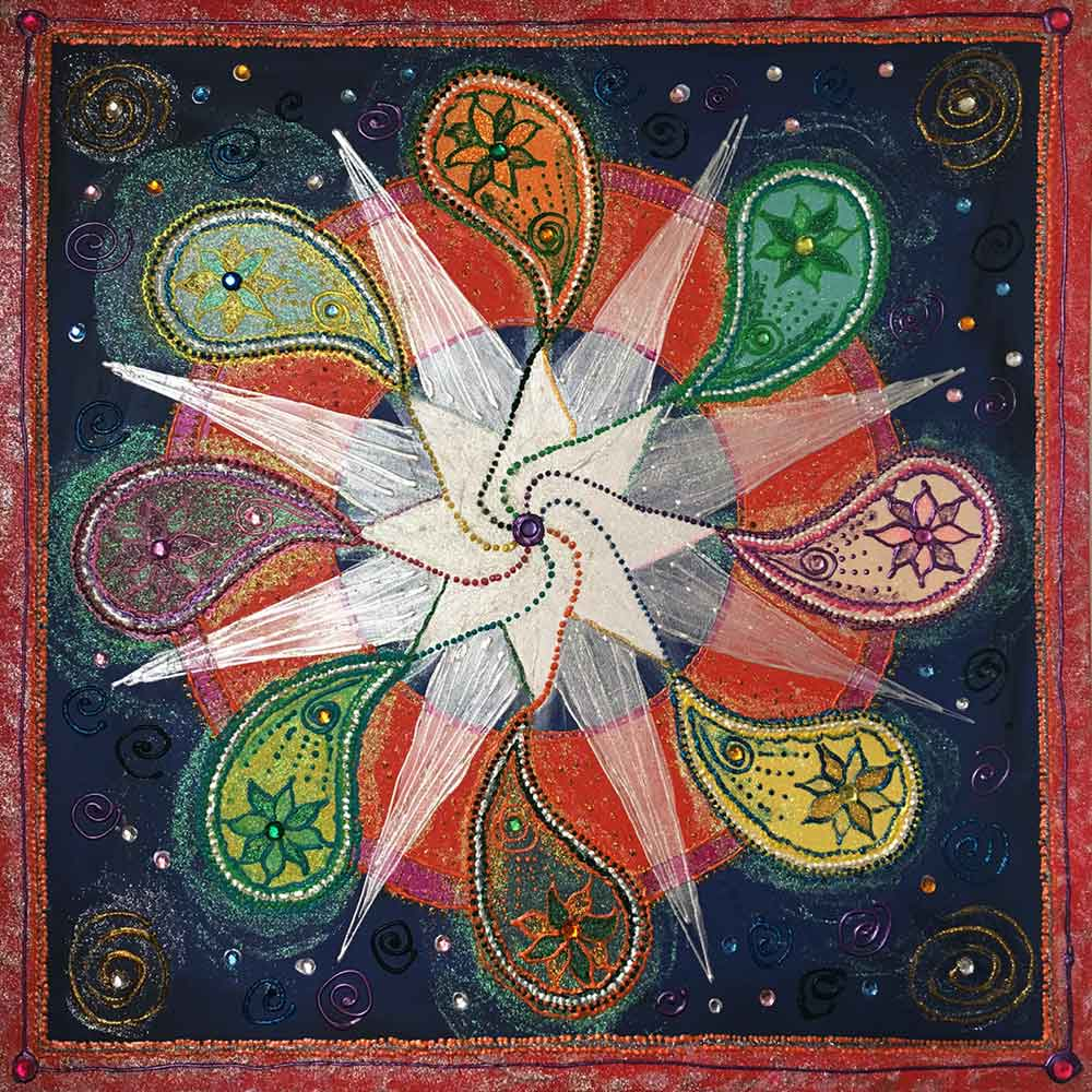 We're All Connected Mandala