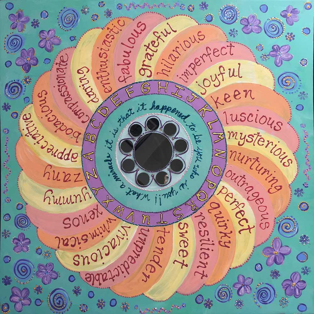 The ABCs of Me Mandala