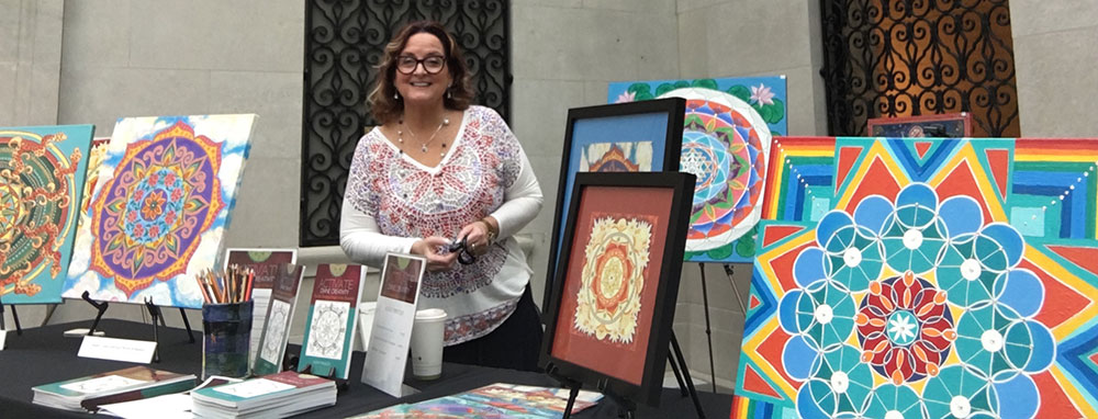 Kathy Rausch Mandalas at the Columbus Museum of Art