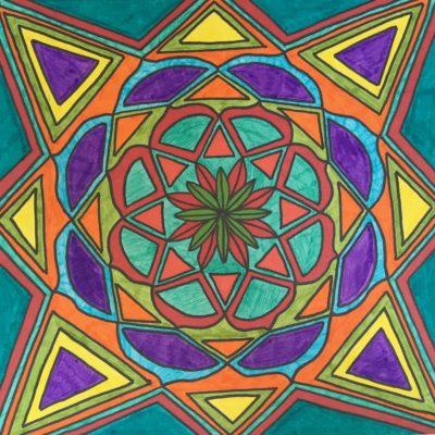 Magical Mandala Doodles Workshop February- 2019