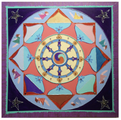Magical Mandala Painting Workshop April 2019