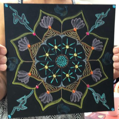Magical Mandala Doodles Workshop July 21