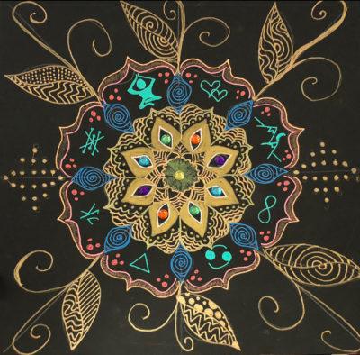 Mandala Doodles Workshop Blicks