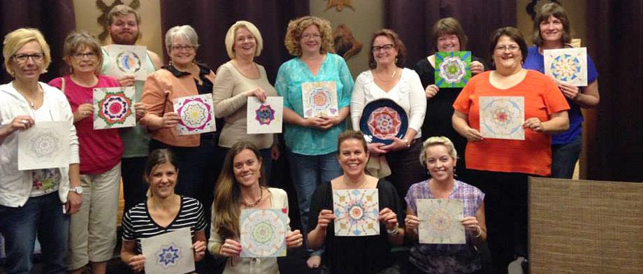 First Mandala Doodle class