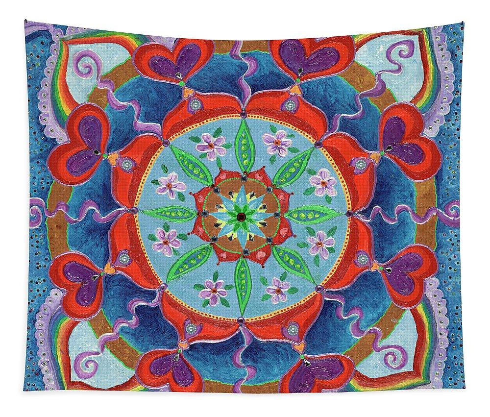 Mandala Tapestry The Seed is Planted