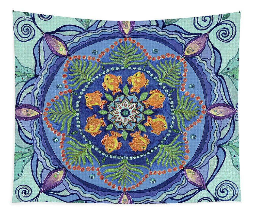 Mandala Tapestry And So It Grows