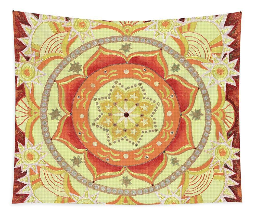 Mandala Tapestry The Universal Need to Express