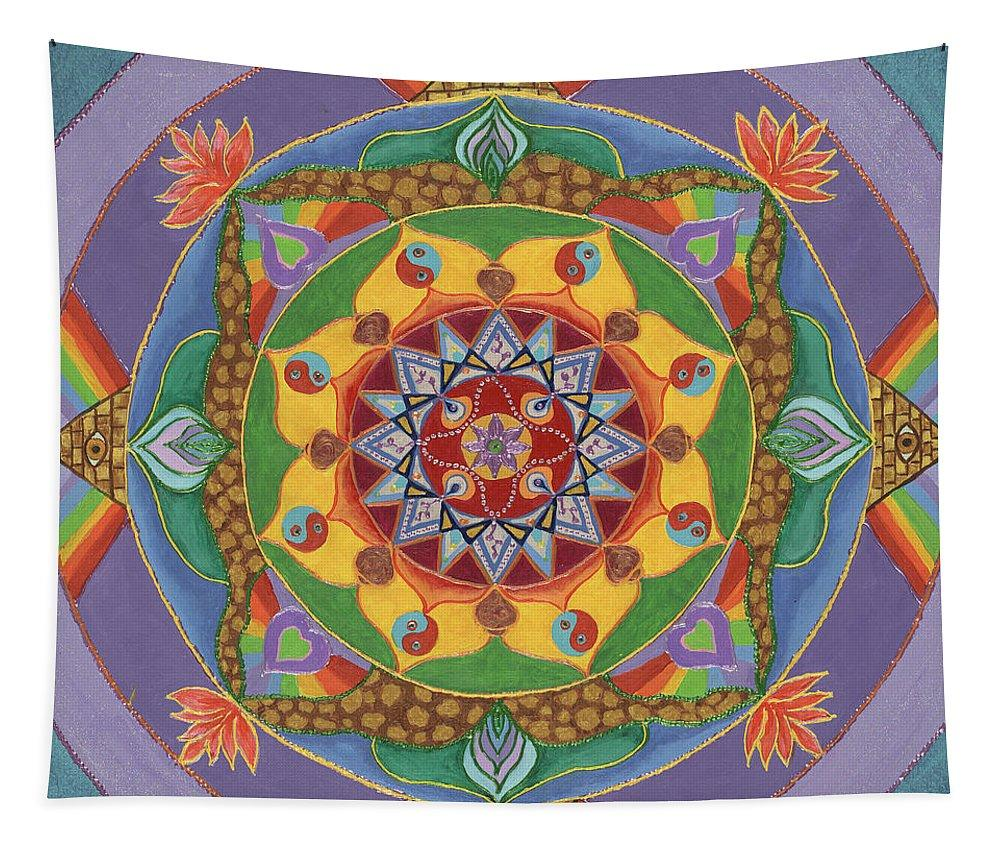 Mandala Tapestry The Universal Need to Evolve