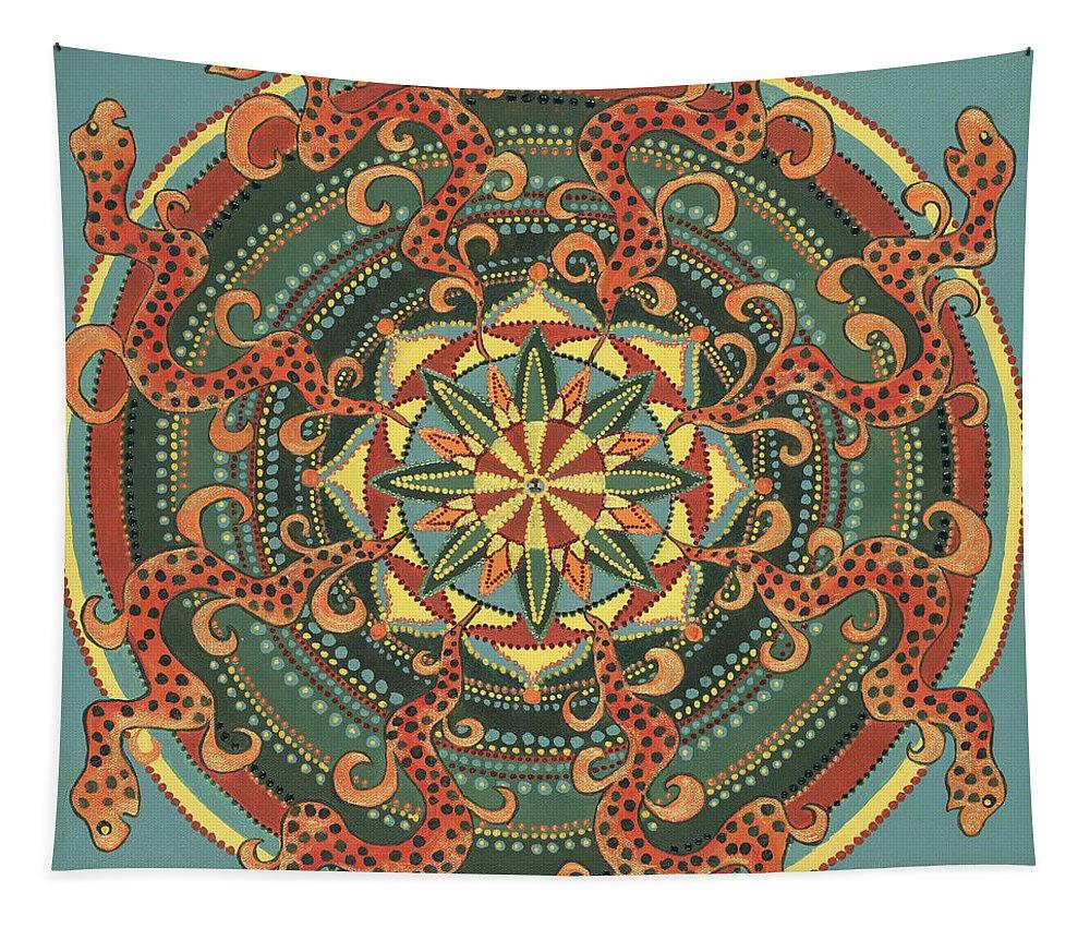 Mandala Tapestry Sacred Contracts