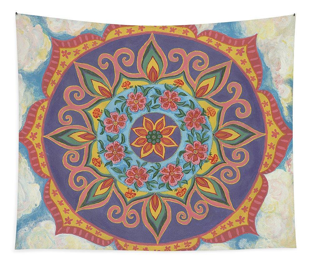 Mandala Tapestry Grace and Ease