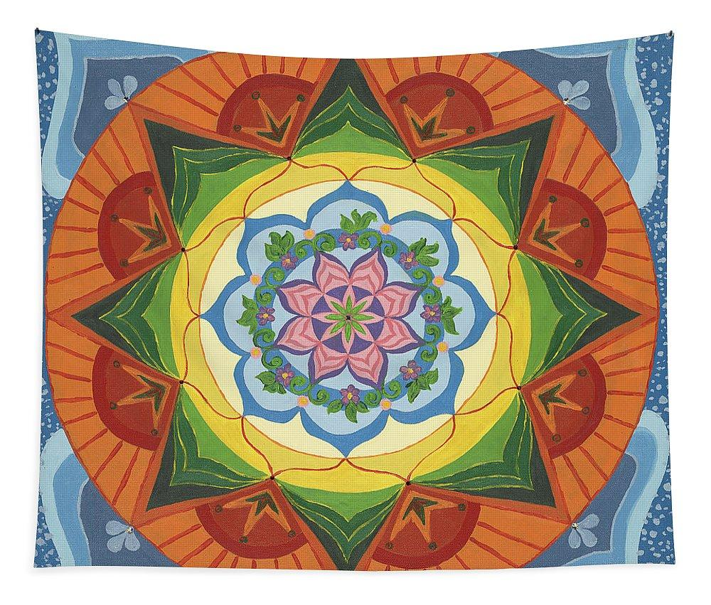 Mandala Tapestry Ever Changing Always Changing